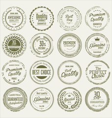 Grunge stamp Premium Quality Vector collection