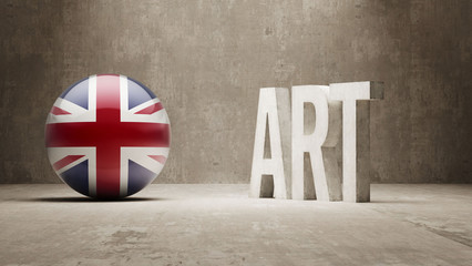 United Kingdom. Art  Concept