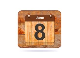 June 8.