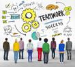 Teamwork Team Together Collaboration Group Diversity Concept