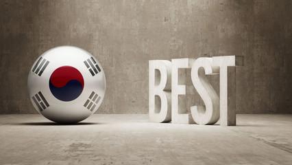 South Korea. Best  Concept