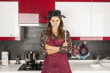 protesta in cucina