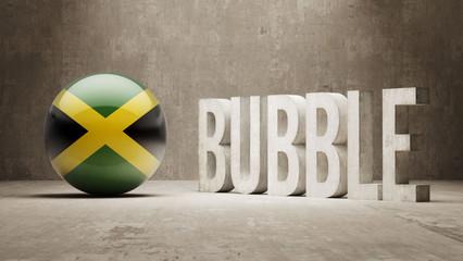 Jamaica. Bubble  Concept.