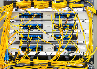 Confused of fiber optic panel