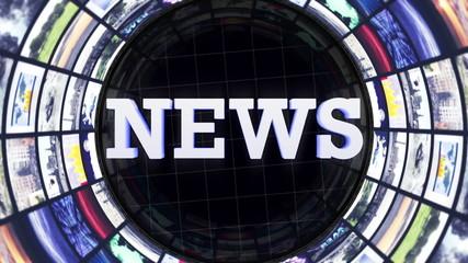 NEWS Text and Rotation Monitors Tunnel, Loop