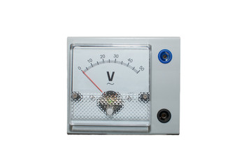 Voltmeter panel