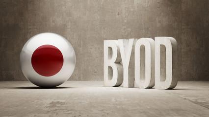 Japan. Byod  Concept