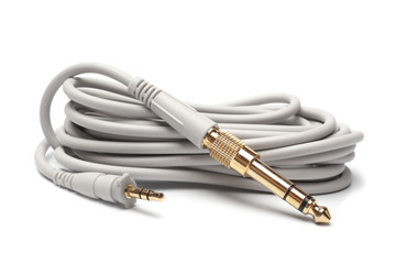 3,5mm Stereo Male to 6,3mm Strereo TRS Male Audio Cable