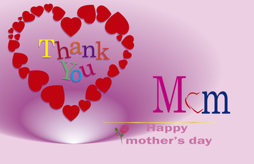 thank you, Mother's Day