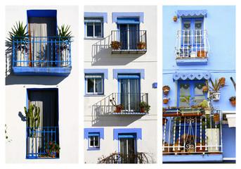 fenêtres en Espagne