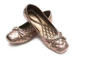 Female beige shoes