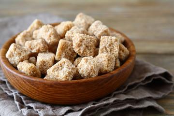 Cane sugar in a bowl