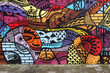 Street art - Graffiti wall - 77891611
