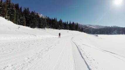 Valmalenco (IT) - Lago Palù - sci alpinismo