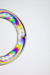 Circle ruler polarized