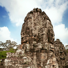 Statue of Bayon temple