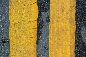 line on asphalt road texture