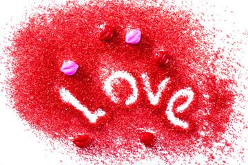 love in red sugar