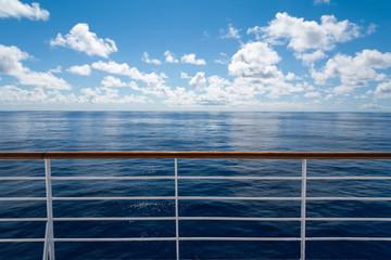 Ocean from cruise ship