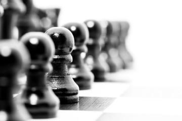 Aufstellung Schach