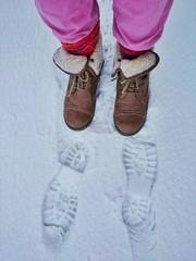 Im Winter unterwegs