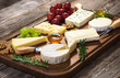Various types of cheese - 77897650