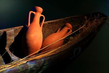 Ceramic vessels-Oiasso museum-Spain