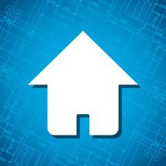 Blueprint home icon