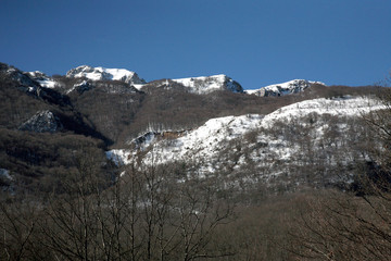 Mainarde mountains