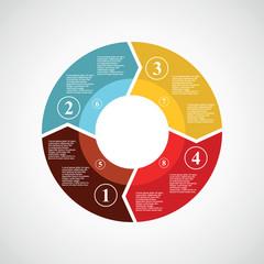 circle infographics.