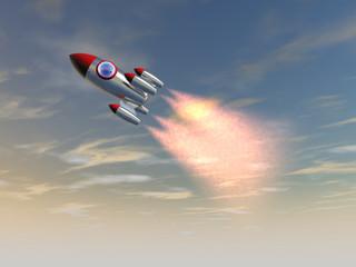 Missile in cielo