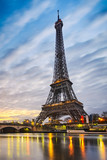 Sunrise at the Eiffel tower, Paris - 77900002