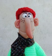 Puppet dad