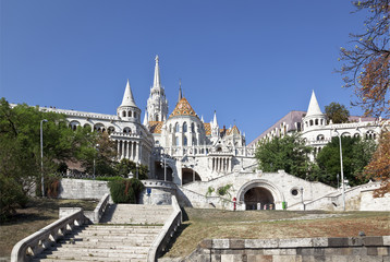 Budapest. View of Fisherman's Bastion
