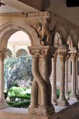 Provenza, Aix-en-Provence, il chiostro della cattedrale