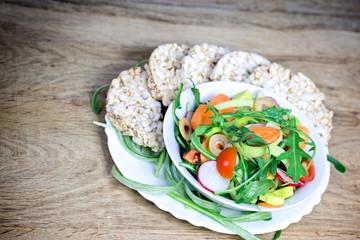 Healthy meal - vegan food