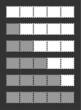 vector gray loading bar