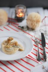 Cabbage and mushrooms patties