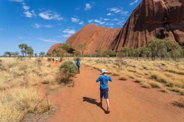 Randonnée à Ayers rock / Uluru