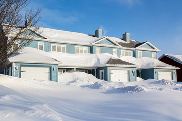 Winter Row Houses