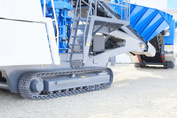 The image of mobile crusher
