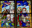 Jesus on the Cross - Stained Glass - Good Friday