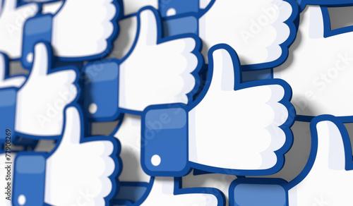 Zdjęcia na płótnie, fototapety, obrazy : Like_3D_9_13