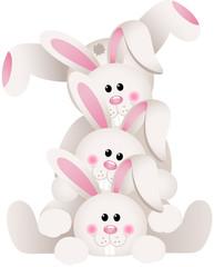 Stack of bunnies