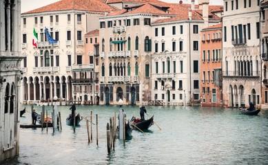 Paesaggio di Rio Grande a Venezia