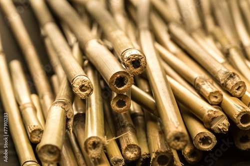bamboo pipes