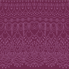 Abstract doodle lace background