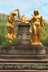 Mozartbrunnen Dresden