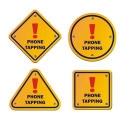 phone tapping - warning signs