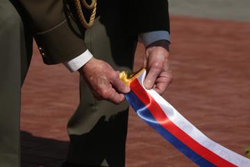 Celebration of Victory Day in Prague, Czech Republic